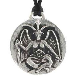 Baphomet Sabbatic Goat Necklace LABEShops Home Decor, Fashion and Jewelry