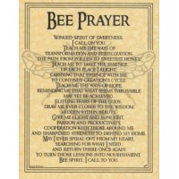 Bee Animal Spirit Parchment Poster