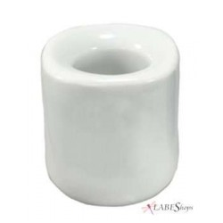 White Mini Taper Candle Holder LABEShops Home Decor, Fashion and Jewelry