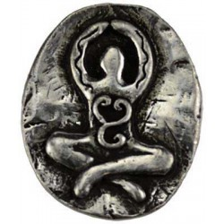 Goddess Pewter Pocket Charm LABEShops Home Decor, Fashion and Jewelry