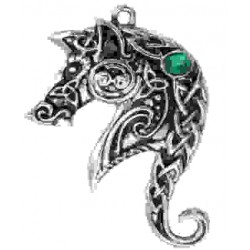 Lyonesse Horse Celtic Necklace LABEShops Home Decor, Fashion and Jewelry