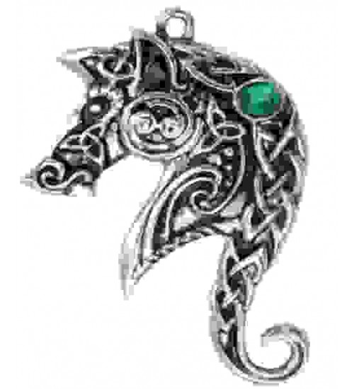 Lyonesse Horse Celtic Necklace