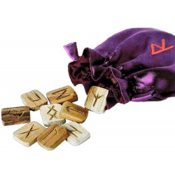 Wooden Runes in Pouch LABEShops Home Decor, Fashion and Jewelry