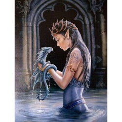 Water Dragon Canvas Art Print LABEShops Home Decor, Fashion and Jewelry