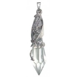 Keeper of the Crystal Sterling Silver Pendant LABEShops Home Decor, Fashion and Jewelry