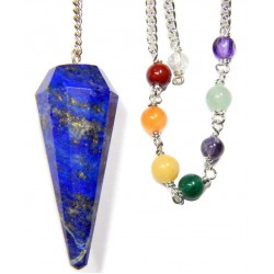 Lapis Lazuli Chakra Scrying Pendulum LABEShops Home Decor, Fashion and Jewelry