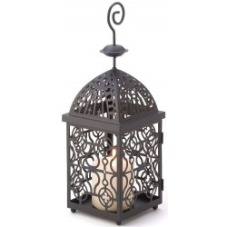 Moroccan Birdcage Candle Lantern LABEShops Home Decor, Fashion and Jewelry